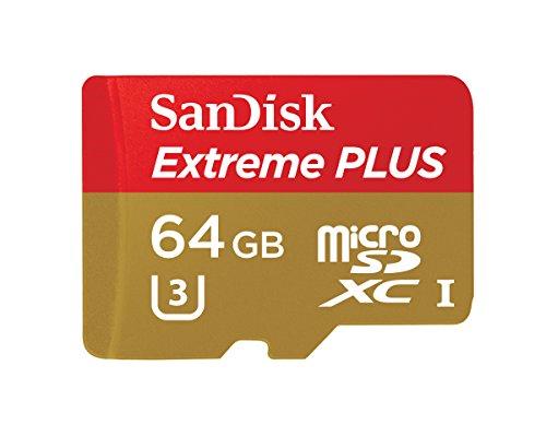 SanDisk Extreme PLUS 64GB microSDXC UHS-I/U3 Card