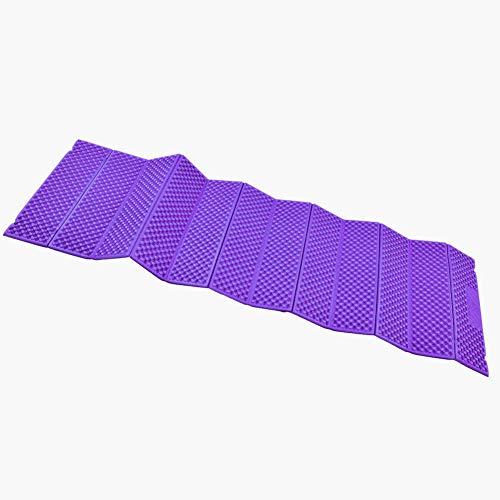 Alomejor Schaumstoffmatte Gymnastikmatten Fold-Fit-Folding Equipment Mat Strand Zelt Isomatte(Violett)