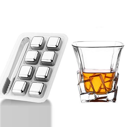 prácticos vasos de whisky, regalos para hombres, vaso sin plomo, 6 vasos,...
