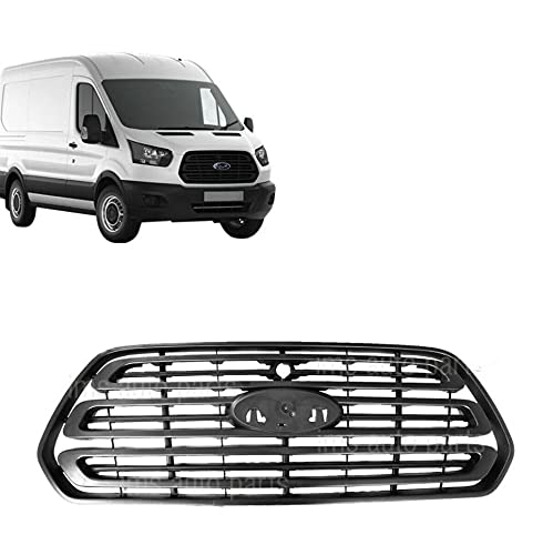 Front Bumper Upper Grille Grill Replacement For Ford Transit 2015-2019 With Camera Hole 150 250 350 350HD OEM FO1200587C CK4Z-17E810-AA