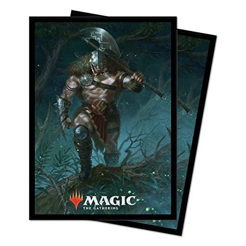 Ultra Pro 100 Bustine Protettive - Magic The Gathering - M21 Garruk