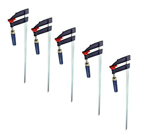 5x Schraubzwingen Set 1000x120mm Klemmzwingen Leimzwingen Spannmittel 2149748