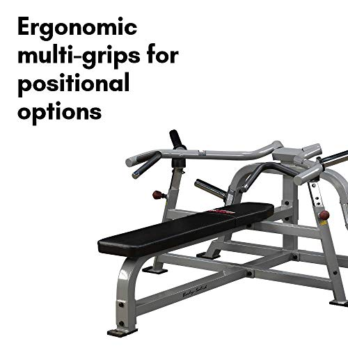 Pro Clubline by Body-Solid LVBP Adjustable Leverage Bench Press for Weightlifting, Commercial and Home Gym