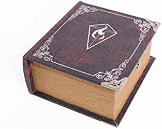 Grimoire Pro Tour 3rd Edition | Wooden and Fabric Lined Portable Deck Box for Mtg, Yugioh, and Other TCG by Wizardry Foundry