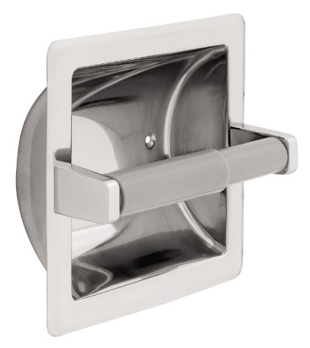 Franklin Brass 657B Recessed Paper Holder,Bright Stainless Steel