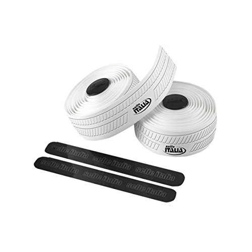 Selle Italia Unisex– Erwachsene Lenkerband Smootape Controllo Gel, 2.5 mm Accessoires, white, unisize