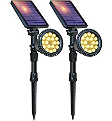 DBF Solar LED Spotlight