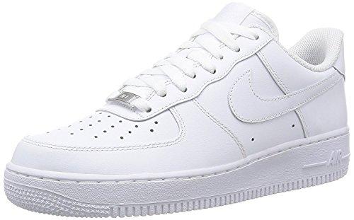 Nike Air Force 1 '07 Herrenstil: 315122-111 Größe:, Wei� (weiß/weiß), 41 EU