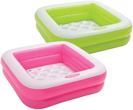 Intex Inflatable Play Box Pool, Multi Color