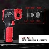 Immagine 1 termometro a infrarossi akozon laser