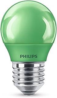 Philips lampe à LED, E27, Party éclairage, idéal pour la fête, gouttes, Plastique, vert, E27, 3.1 wattsW