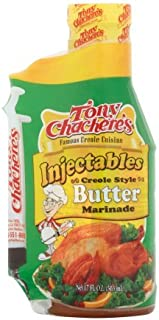 Tony Chacheres Creole Style Butter Marinade 17oz (Pack of 2)