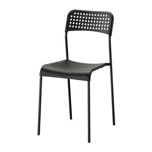 eLisa8 ADDE - Stuhl, Schwarz