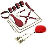 E-DIDI cuero combinación carnaval juego suministros fiesta accesorios fitness cinturón auxiliar A287
