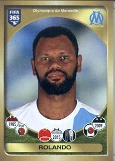 2016-17 Panini FIFA 365#149 Rolando Olympique de Marseille Soccer Sticker