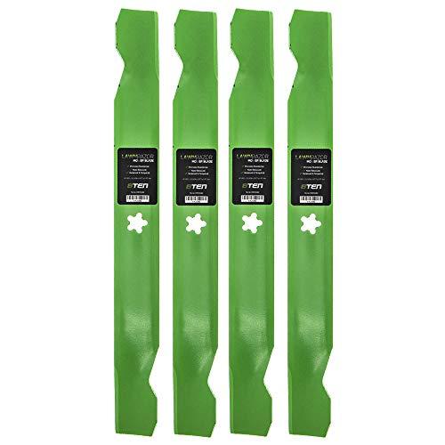 8TEN LawnRAZOR Blade for 42 inch Deck Husqvarna AYP Craftsman Poulan 1742 1842 138971 134149 127843 Hi Lift 4 Pack