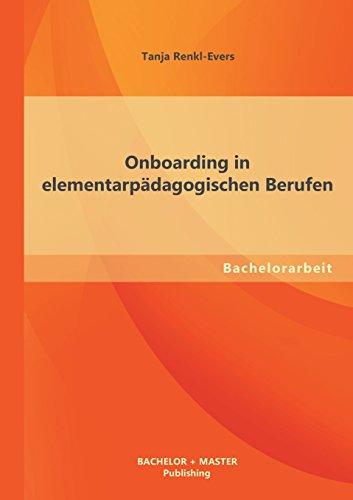 Onboarding in elementarpädagogischen Berufen