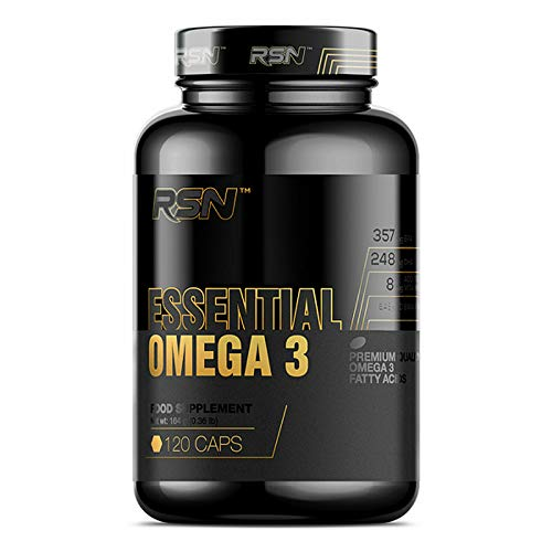 Premium Essential Omega 3 | Food Supplement | Fatty ACIDS | EPA | DHA | Fish Oil | Food Supplement