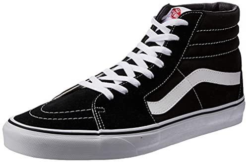 Vans, Zapatillas Altas Unisex Adulto, Negro (Black/White), 35 EU