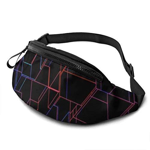 XCNGG Bolso de la Cintura del Ocio Bolso Que acampa Bolso del montañismo Waist Pack Bag for Men&Women, Tokyo Tower Utility Hip Pack Bag with Adjustable Strap for Workout Traveling Casual Running