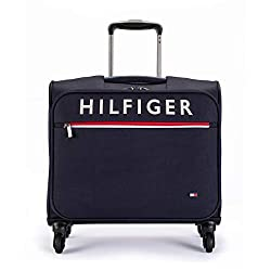 Tommy Hilfiger Orlean Blue Cabin Overnighter (TH/ORLEANOVR08),Brand Concepts Ltd,TH/ORLEANOVR08,Cabin Luggage