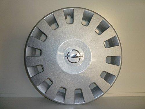 Lot de 4 Enjoliveurs Enjoliveur Boutons Clous de voiture Coupes Rivets Roue Opel Corsa Comfort r 14 (Sc 434L) Logo Chromé