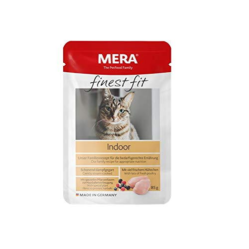 MERA Cat Finest fit Indoor | 12x 85g Katzenfutter nass