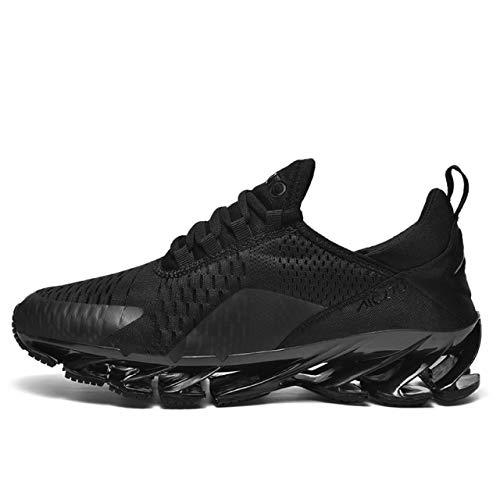 Zapatillas para hombre Air Blade Running Deportes Casual Moda Zapatillas, color Negro, talla 46 EU