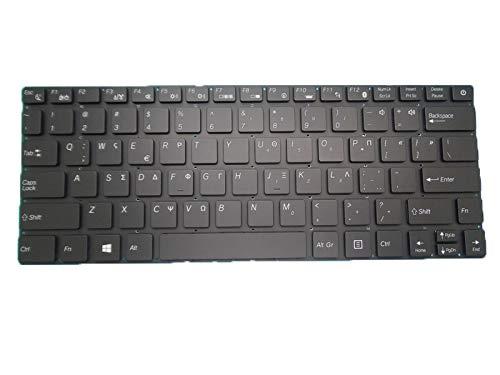 RTDpart Laptop-Tastatur für Purism Librem 13 Version 2 Version 3 13 Non-TPM (Core i5) Griechenland GK Schwarz ohne Rahmen Neu