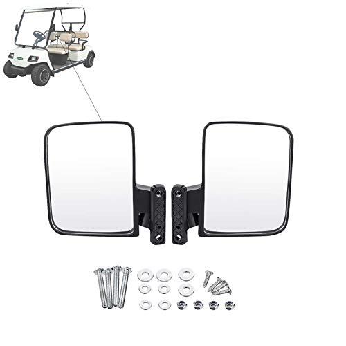 Espejo Retrovisor Universal para Carrito De Golf, Espejo Retrovisor Plegable, Adecuado para Carros De Golf Club Car, Ezgo, Yamaha,A