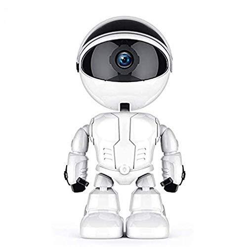 KuWFi Cámara IP WiFi 1080P Monitor de Bebé Cámara de Vigilancia Automática para Robot de Seguridad del Hogar Cámara IP Inalámbrica Monitor de Mascotas