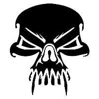 車用ステッカー・デカール 14.8X17.3CM吸血鬼頭蓋骨の車のトラックの窓のステッカー装飾的なビニールのステッカー BJRHFN (Color : Black)