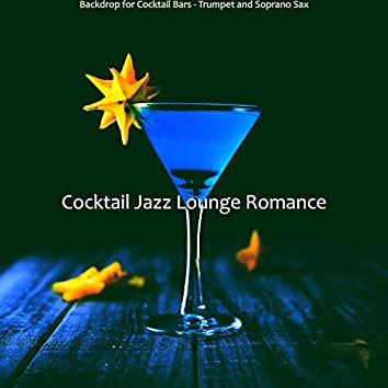 Backdrop for Cocktail Bars - Trumpet and Soprano Sax