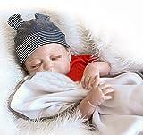 iCradle Muñeca de silicona de cuerpo entero suave de 18 pulgadas / 23 pulgadas, aspecto de muñeca de bebé realista, 45 cm/57 cm