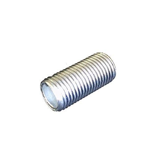 FE Gewinderohr M10x1 Länge 30mm Verzinkt Lampenrohr >> Anschlussrohr 10 Stück