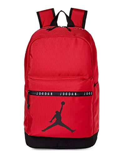 Jordan Boy`s Air Jordan Classic DNA Backpack (One Size, Red(9A0207-R78)/Black)