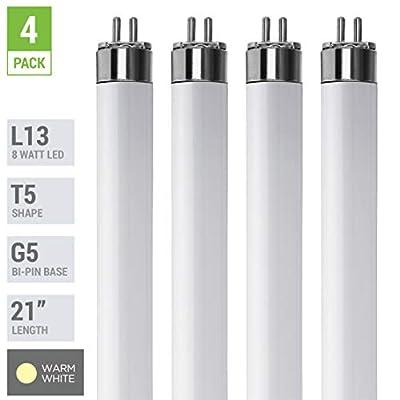"F13T5 - 13 Watt - 21"" Super Long Life Light Bulbs"