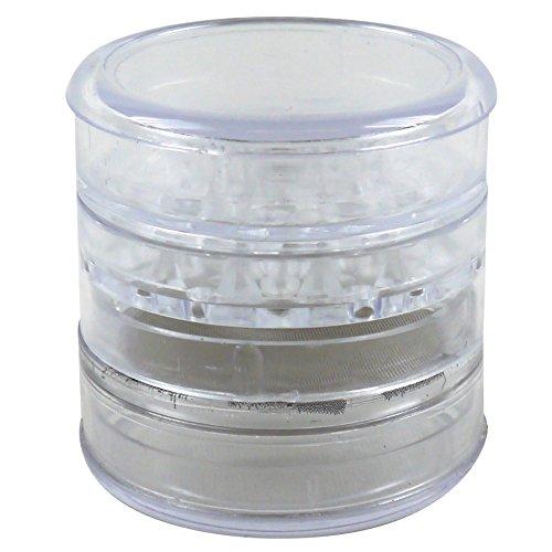 Acryl-Grinder, 4-teilig, Ø ca. 60mm, weiß