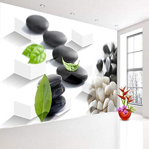 3d Brick Wallpaper für 3d Livingroom Tapetenrolle SPA Salon Blatt auf Stein Massage Wandbild Rollen Papel De Parede Art 3D wallpaper @ 200 * 140