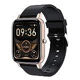 BNMY Smartwatch, 1.69 Zoll Touchscreen Fitness Armbanduhr, Fitness Tracker Mit Pulsuhr, IP67 Wasserdicht Sportuhr Mit Schrittzähler Schlafmonitor, Smart Watch Für Damen Herren Für Android Ios,Gold