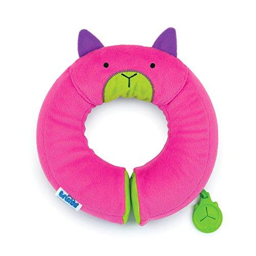 Trunki Cuscino cervicale da viaggio per bambini con supporto per il mento - Yondi Piccolo Betsy (Rosa)