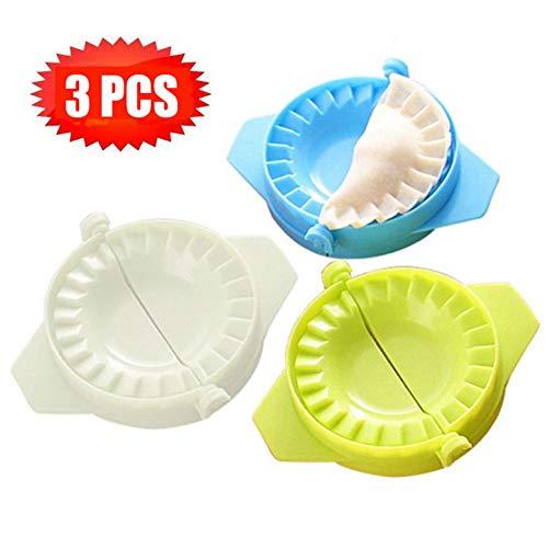 Set di 3 Stampo per Ravioli Dumpling Maker Formine per Pierogi e Pasta - Dough Stampa Press Pasticceria Utensili Mold Attrezzo Accessorio per Cucina #12