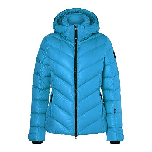 Bogner Fire + Ice Ladies Sassy2-D Blau, Damen Daunen Jacke, Größe 36 - Farbe Glacial Blue