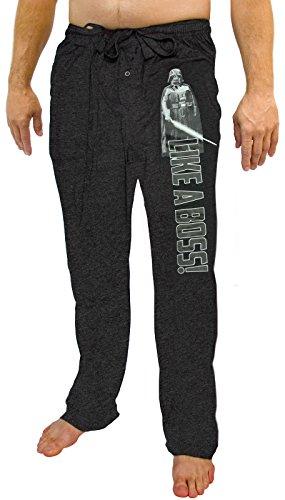 Disney Star Wars Darth Vader como un Boss Knit gráfico Sueño salón Pantalones - 00-LAGPVU-72, Negro