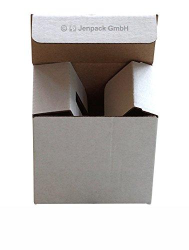 Tassenverpackung Mit Tassenhalterung 75x50x72mm Weiss, klein (100)