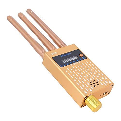VGEBY Detector Anti espía Detector de señal inalámbrico Detector de cámara Oculta de Alta sensibilidad Insecto Anti gsm