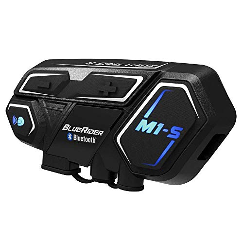 Cheapest Prices! BIBENE Motorcycle Bluetooth 4.1 Intercom BlueRider M1-S Helmet Communication System...