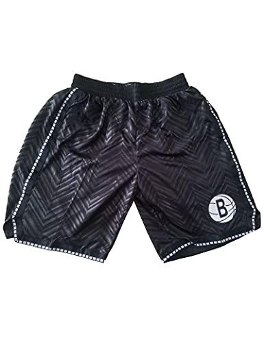 Kfdfns Hombres NBA Baloncesto Pantalón Corto Pantalones Corto de Baloncesto Elasticidad Deportivo Pantalones