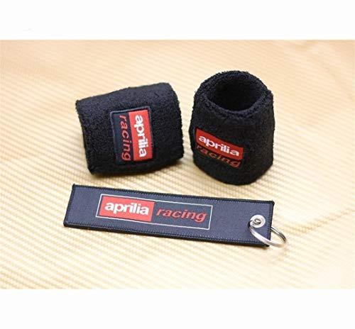 Motorrad Socken deckt Bremse Schlüsselanhänger Motorrad Vorderradbremse amp;Hintere Kupplungsflüssigkeit Ölbehälter Socken for Aprilia Racing RSV4 APRC RS4 125 RS125