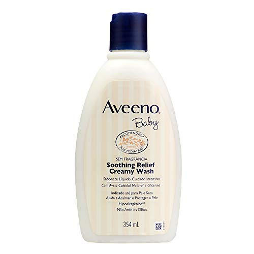 Sabonete Líquido Soothing Relief, Aveeno Baby, 354ml